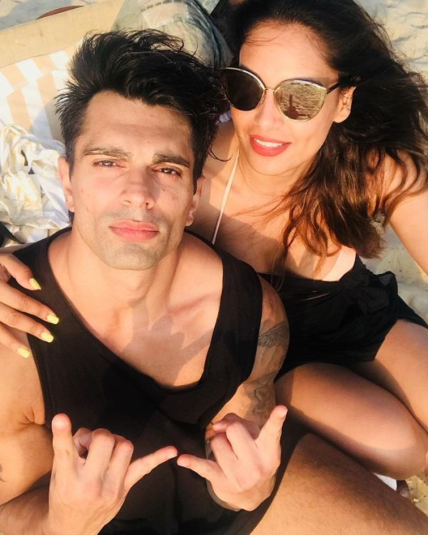 bipasha basu and karan singh grover celebrated wedding anniverary in goa