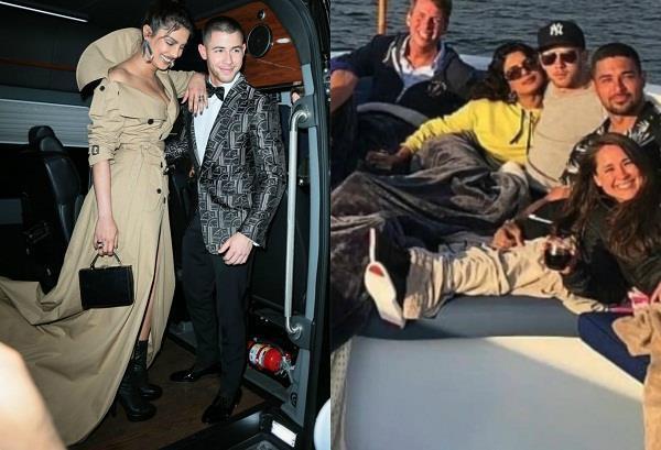 priyanka chopra viral picture with american pop singer
