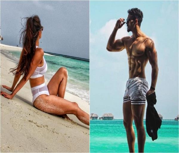is tiger shroff disha patani spending quality time on summer vacation