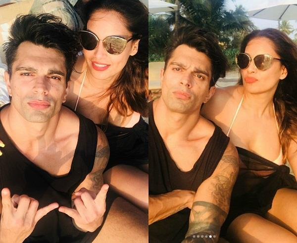 bipasha karan wedding anniversary celebration