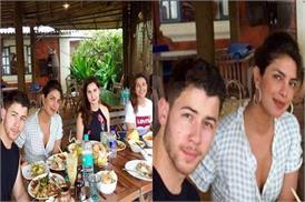 बॉयफ्रेंड निक और फैमिली के साथ गोवा में लंच करती नजर आई प्रियंका, तस्वीरें वायरल