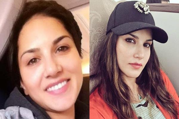 sunny leone gets admitted in hospital