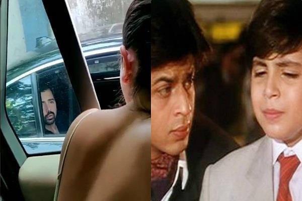 arhaan khan shared screen with shahrukh khan and shahid kapoor