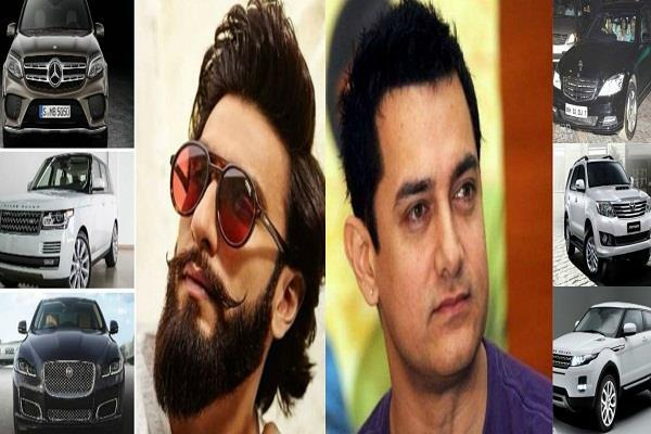 these bollywood stars who are having costly cars