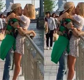 सेलेना गोमेज को नहीं बल्कि इस हसीना को सरेआम KISS करते नजर आए जस्टिन बीबर