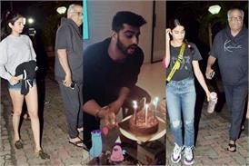 पापा बोनी और बहनों के साथ अर्जुन कपूर ने सेलिब्रेट किया अपना जन्मदिन, देखें तस्वीरें