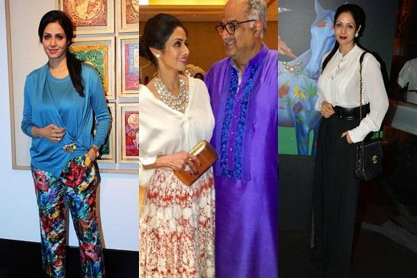 exhibition of sridevi paintings
