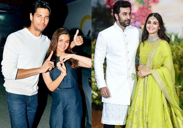 after breaking up with sidharth malhotra alia bhatt date ranbir kapoor