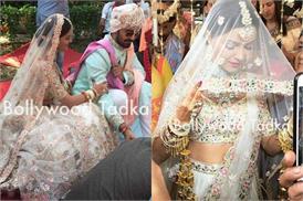 दुल्हन बनीं रुबीना दिलाइक की शादी की तस्वीरें आई सामने, व्हाइट लहंगे में लग रही है खूबसूरत