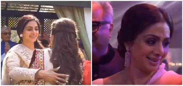 sridevi husband boney kapoor shares last video of here