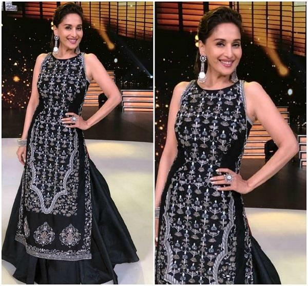madhuri dixit in samant chauhan outfit