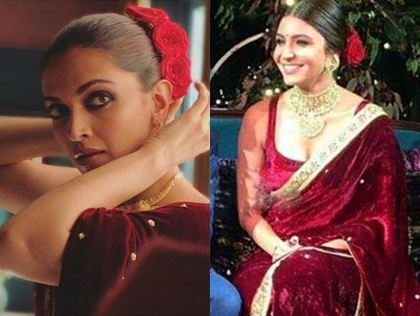 deepika padukone copied a look of anushka sharma