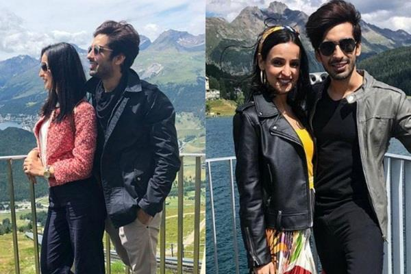 sanaya irani mohit sehgal enjoy holiday in switzerland