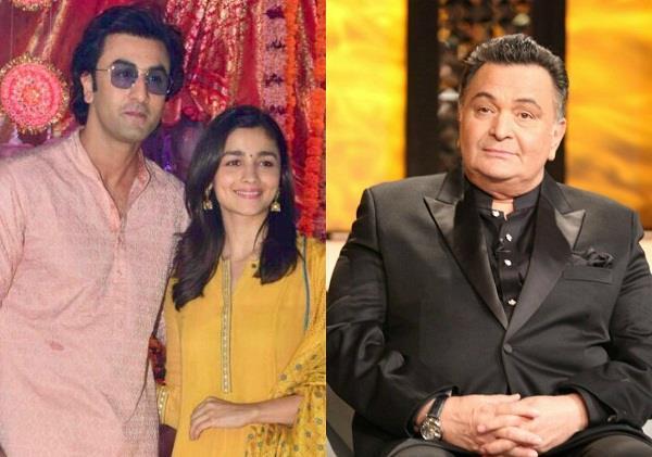 rishi kapoor talk about alia ranbir relation