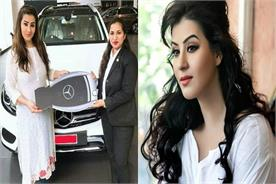 shilpa shinde buys mercedes car