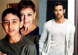 hritik roshan heart toching comment on sonali bendre son ranveer