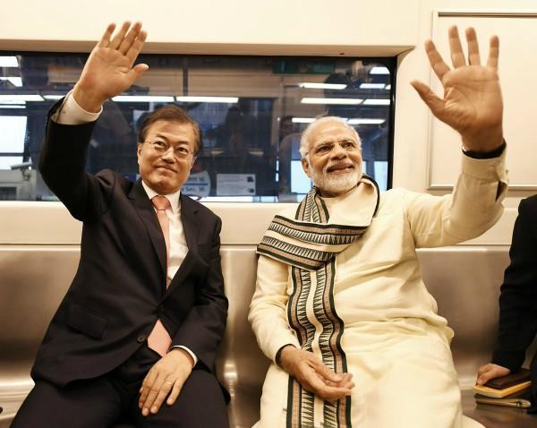 president of south korea convinced by pm modi