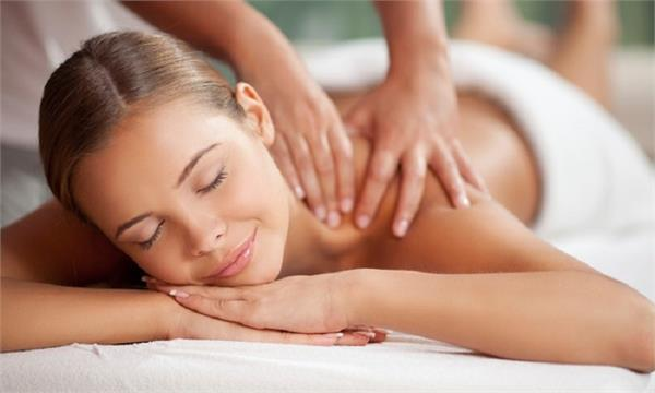 body massage after delivery