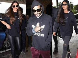 bollywood stars spotted at airport
