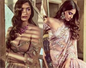 sonam kapoor beautiful bride photo shoot