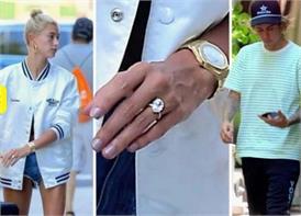 जस्टिन ने हैली को पहनाई इतने करोड़ की अंगूठी, विराट-अनुष्का की रिंग की कीमत कुछ भी नहींं