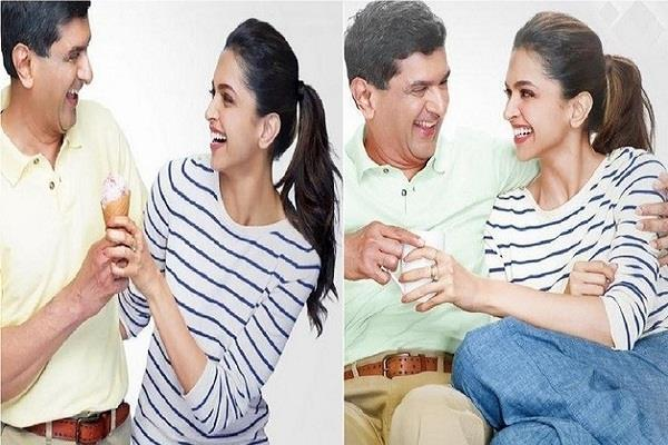 deepika s dad prakash padukone was badminton player