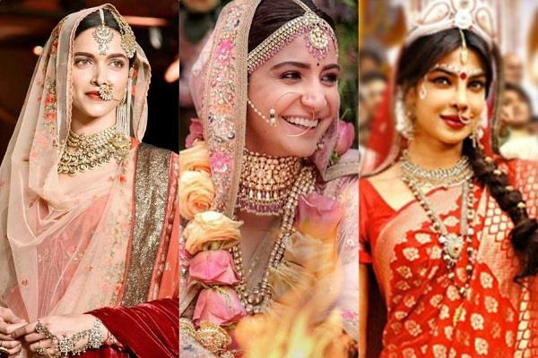 bollywood actresses bridal looks