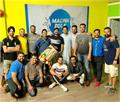 binnu dhillon shared a video punjabi university bhangra team