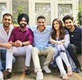 akshay kumar shoots his first music video filhaal and sing by b praak