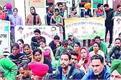 chandigarh  unemployed teachers  protest