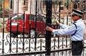 ministers meet delhi private guard posted