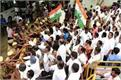 congress protest over chidambaram  s arrest in chennai