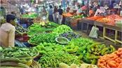retail prices declined marginally of vegetables  pulses