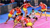 patna defeats gujarat  hopes on up match