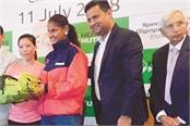 amandeep kaur  s selection for women  s special olympics unified football wc