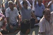 protestors by issuing notice from municipal council