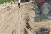 illegal mining of sand