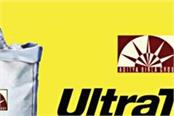 ultratech cement receives profit of rs 598 crore