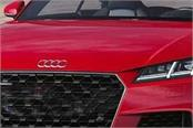 pictures of audi tt facelift leaked