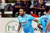 india  s first in asian hockey match with hong kong