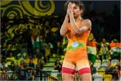 wrestling  vinaysh won but lost to mumbai  s maharani