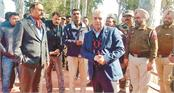 land port authority of india team visits crossing border