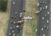 australia bus rolled