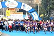 mumbai marathon  medical assistance
