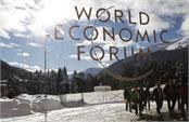 concerns climate change but leader arrived in davos via private jet