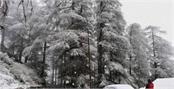 himachal pradesh snowfall in badrinath
