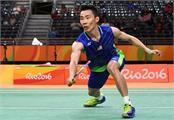 malaysia open  badminton star lee chong wei