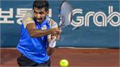prajnesh wins ramkumar out in the first round of miami open
