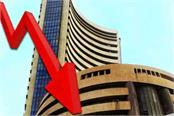 stock closed down sensex