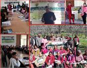 pau s scientists train himachal tribal farmers